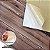 Placa Adesiva 3D  - Madeira Marrom - 70cm x 60cm - Imagem 3