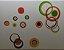 Adesivo Stickers Círculos Coloridos - Imagem 1