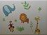 Adesivo Stickers Infantil Animais - Imagem 1
