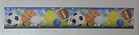 Faixa Adesivo De Parede Infantil Futebol  - Imagem 2