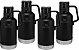Kit Promocional - 4 Growlers Térmicos Preto Fosco - STANLEY - Imagem 1