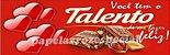 TALENTO FAIXA LATERAL 001 9 CM - Imagem 1