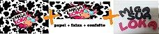 KIT MIGA SUA LOKA (PAPEL + FAIXA + CONFEITO) - Imagem 1