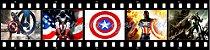 CAPITÃO AMÉRICA FAIXA LATERAL 001 9 CM - Imagem 1