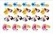 PRINCESAS DISNEY PREMIUM 5CM 20 UNIDADES - Imagem 1