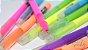 Caneta Esferografica Gel Trend Colors com 12 Pecas na Caixa - Imagem 4