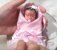 Mini Bebê Reborn Silicone Sólido Completo *Lelê* - Imagem 1