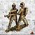 Estatua Dois Bombeiros - Imagem 2