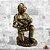 Estatua Bombeiro com bebê - Imagem 1