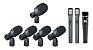 KIT MICROFONES KADOSH K-8 SLIM COM 8 PEÇAS PARA BATERIA - Imagem 1