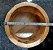 Pilao Madeira Socador Alho Caipirinha Pacoca Bambu Kehome - Imagem 3