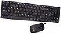 Kit Teclado E Mouse Sem Fio Slim Wireless Alcance Preto - Imagem 4