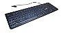 Teclado Gamer Semi Mecanico Pc Computador Abnt2 LED BRANCO - Imagem 4