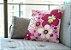 Capas De Almofada Flores Decorativas 45x45 - Imagem 1