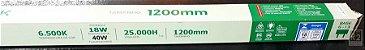 LÂMPADA TUBULAR T8 18W LED 6500K BIVOLT INMETRO SKYPIX - Imagem 1