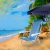 Cadeira De Praia Alumínio Mor Reclinavel 8 Posições Azul Sannet - Imagem 2