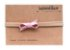 Laço Pier Mini Rosa Metálico - Imagem 1