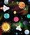 Saia Suspensório Botão Galáxia - Imagem 4