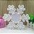 Luminária De Led Decorativa Floco De Neve Festa Decoração - Imagem 2