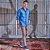 Camisa Masculina Dupla Face Jeans Camuflado - Imagem 2