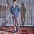 Camisa Masculina Dupla Face Jeans Camuflado - Imagem 1