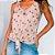 Blusa Floral com Amarração - Imagem 2