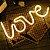 Luminária Love Neon Led de Parede USB e Pilha - Imagem 3