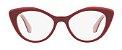 Óculos de Grau Miu Miu MU01RV H201O1 52-18 - Imagem 3