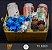 Cesta Harmonização Clássica: 3 Latas de Cerveja e 12 Chocolates - ABC Paulista e São Paulo-SP - Imagem 1