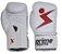 Luva de Boxe Prime Esportes - Knockout Branca e Vermelha - Imagem 2