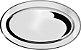 Travessa Oval Inox 25 Cm - Imagem 1