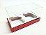 Caixa para 2 Mini Cupcakes com Tampa de Acetato - Imagem 14