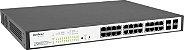Switch 24 Portas 10/100/1000 4 Sfp Sg 2404 Poe Intelbras - Imagem 1