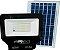 Refletor Placa Solar Led 50w Controle Remoto Branco Frio - Imagem 1