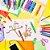 Giz de cera Leo e Leo Color Gel 12 cores *aquarelável  - Imagem 4