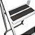 Escada em aço Doméstica 3 Degraus Branca - Utilaço - Imagem 6