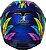 CAPACETE AXXIS EAGLE DREAMS GLOSS BLUE/GREY - Imagem 3