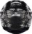 CAPACETE AXXIS EAGLE SKULL MATT BLACK/GREY - Imagem 4