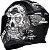 CAPACETE AXXIS EAGLE SKULL MATT BLACK/GREY - Imagem 2