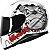 CAPACETE MT HELMETS THUNDER 3 BONE GREY GLOSS  - Imagem 1