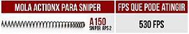 Mola A150 ActionX para Sniper - Imagem 2