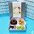 Kit School Party - Mini Bolo + 2 Pots - Lata Quadrada  (pedido mínimo de 5 unidades) - Imagem 1