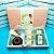 Kit School Party - Mini Bolo + 4 Pots - Caixa Gourmet (pedido mínimo de 5 unidades) - Imagem 1