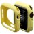 Bumper Case Amarela para Apple Watch Series (1/2/3/4/5/6/SE) de Silicone - WJXTY7UYP - Imagem 1