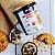 Pasta de amendoim com whey protein sabor cookies and cream 1kg - Imagem 1