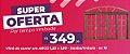 VITRÔ DE CORRER QUADRICULADO 1,20 x 1,80 EM ARCO PREMIUM EM ITAÚBA/IMBUIA CAIXA 10 CM - Imagem 2