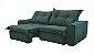 Sofá Retrátil e Articulado com molas Ensacada Marsala - Imagem 1