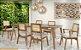Conjunto de mesa jantar com 6 cadeiras Iza - Imagem 1