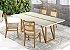 Conjunto de mesa de jantar com 4 cadeiras Ludmilla - Imagem 1