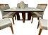Conjunto de mesa Lívia 1,35 X 1,35 c/ 08 cadeiras - Imagem 2